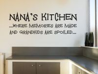Nana s Kitchen - Wall Art Sticker Vinyl Transfer Modern ...